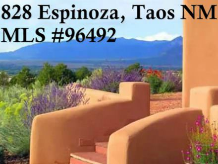 828 Espinoza Road, Taos, NM 87571, MLS # 96492