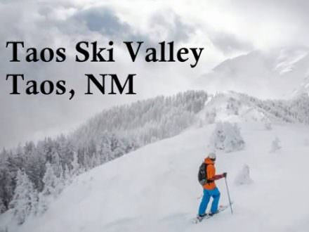Taos Ski Valley-Taos, New Mexico