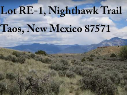 Lot RE 1 Nighthawk Trail, Taos, NM 87571